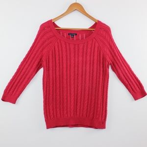 American Eagle Loose Cable Knit Sweater M